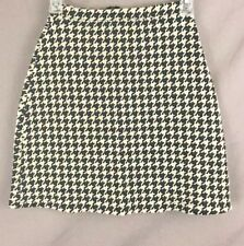 Express Tricot Womens Houndstooth Stretch  Skirt Size 1/2