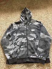 Nike Tech Fleece Camo Hoodie Zip Jacket Black Camouflage XXL