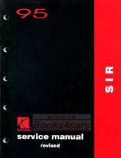 Saturn Shop Manual Service Repair 1995 Book Sir Airbag