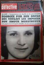 DETECTIVE 7/04/1966; Danièle Poirot/ St-Dié; l'innocence de son oncle monstrueux