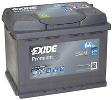 Batterie Exide EA640 Fulmen FA640 12v 61ah 600A 242x175x190mm varta D21 D24