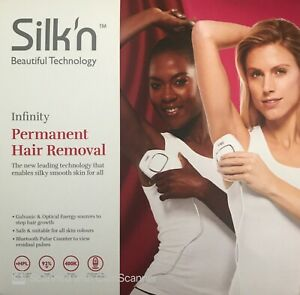 Silk'n Infinity 400,000 Pulse & Glide Tech Permanent Hair Removal Device - 400k
