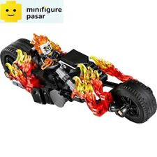 Lego Marvel Super Heroes Spider-Man 76058 - Ghost Rider Minifigure & Bike - New