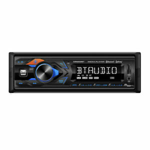 Dual XRM59BT 1-DIN Car Stereo Digital Media Receiver with Bluetooth