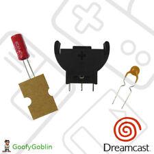 SEGA Dreamcast Controller Ports PCB Refurb kit - Fuse, Capacitor, Battery Holder