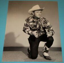ROY ROGERS /  8 x 10  B&W  PHOTO