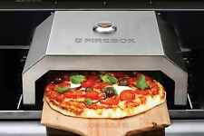 Brand New FireBox BBQ Pizza Oven Maker Stainless Steel Portable Gas/Charcoal
