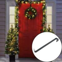 Christmas Wreath Door Hanger Secure Strong Metal Hook Xmas Decoration