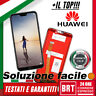 DISPLAY LCD+TOUCH SCREEN per HUAWEI P20 LITE ANE-LX1 SCHERMO ORIGINALE BRT_24H!