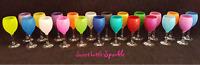 Sparkly Glitter Wine Gin Large Glass Birthday Gift Hen Women Present Wedding
