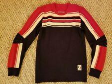 Vintage Italian Ski Racing Sweater Silvy Tricot
