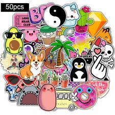 50 PCS VSCO Girl Cartoon Sticker Waterproof Stickers visco