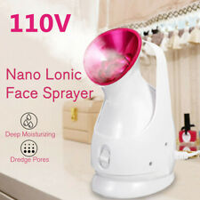 Professional Ozone Facial Steamer Face Sprayer Salon SkinCare CleanBrush Machine