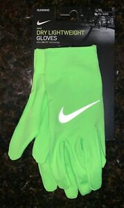 Nike DRI-FIT Lightweight Running Gloves Large/X-Large NEW