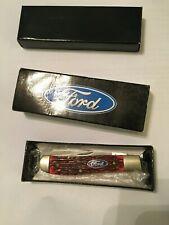 United Cutlery 2 Blade Ford Folding Pocket Knife Accessory Blue Oval Badge Box