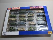 HUGE GI JOE 20 VEHICLE Die Cast Metal BOX SET by MAISTO & HASBRO - See my toys++