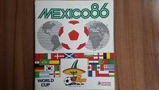 PANINI MEXICO 86 WORLDCUP 1986 * KOMPLETTSET COMPLETE SET*EMPTY ALBUM