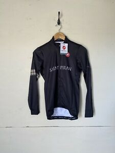 CASTELLI MEN'S THERMAL LS CYCLING JERSEY SIZE UK S BNWT