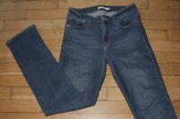 Levis 714 Straight Jeans pour Femme W 29 - L 32  Taille Fr 38  (Réf S423)