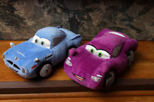 Cars Stuffed Plush Lot Holly Shiftwell, Finn McMissile Disney Store Pixar