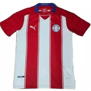 Paraguay Home Jersey Player Version