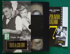 VHS FILM Ita Commedia TOTO' A COLORI isa barzizza fulvia franco no dvd(V132)