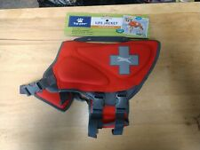 New Top Paw Neoprene Dog Life Vest Jacket Boating Red, Med, Small, XSmall