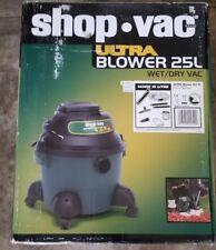 New Shop Vac BMB110040 Ultra Blower 25L Wet/Dry Vacuum Cleaner - 220 Volt
