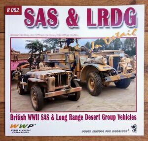SAS & LRDG in Detail: British SAS & Long Range Desert Group, Softback book WWP