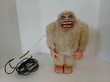 Vintage Marx Yeti Abdominable Snowman Electronic Toy READ!