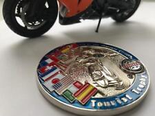 Yamaha bike badge Isle of Man motorcycle emblem -  Race badge Fits all!