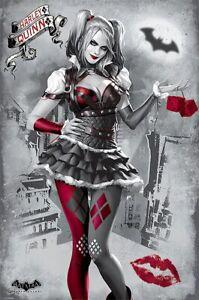 "Batman Arkham Knight - Gaming Poster / Print (Harley Quinn) (Size: 24"" X 36"")"