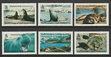 South Georgia 1991 Elephant Seals set SG 203-208 Mnh/ Unmounted mint.