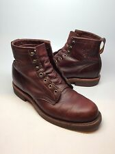 Chippewa Brown Leather Boots US  Men Size 8D