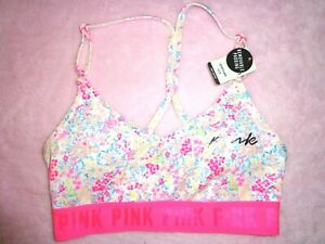 Victoria's Secret PINK ULTIMATE LIGHTLY LINED SPORTS BRA, Size S-M-L-XL avail.