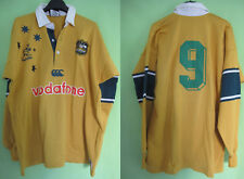 Maillot Rugby Australie WALLABIES #9 Vofafone Jersey Canterbury vintage - XL
