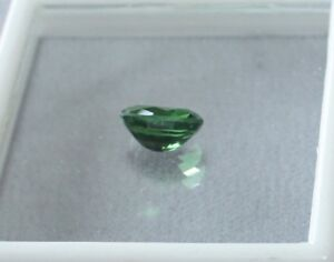Grossularite Garnet Beautiful Green Oval loose gemstone