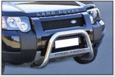 LAND ROVER FREELANDER 2004 BULL BAR MIRROR INOX 60 LUCIDO C/SCRITTA