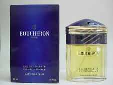 Boucheron Pour Homme Men Eau de Toilette spray 50 mL (1.7 OZ) Sealed
