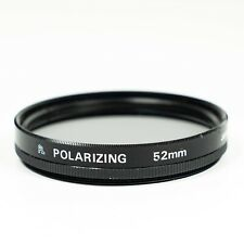 52mm Circular Polarising Camera Filter