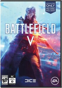 Battlefield V (PC, 2018) Download Only