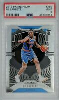 2019-20 Panini Prizm RJ Barrett Rookie RC #250, New York Knicks, Graded PSA 9