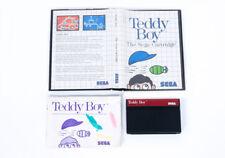 Teddy Boy in scatola-Sega Master Sistema Retrò GIOCO CARTUCCIA PAL