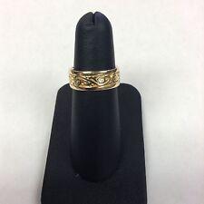 Estate 14k Yellow Gold Ornate Women's Ring Size 7