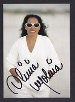 Olivia  Molina   .....  Signierte  Autogrammkarte