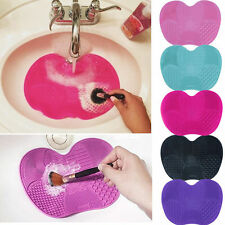 silicone Maquillage Pinceaux NETTOYANT Coussin vaisselle Ponceuse grand plaque