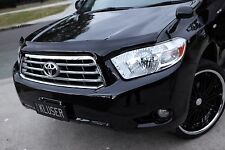 NEW QUALITY TOYOTA KLUGER 2007-2013 SMOKE TINTED BONNET HOOD PROTECTOR GUARD