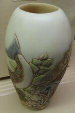 "Harmony Kingdom Jardinia Vase Down River 2003-6 1/2""tall new in box"