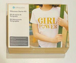 Silhouette Cameo SILKSCREEN STARTER KIT New Sealed tee shirt crafting diy scrap