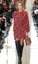 Tory Burch Cora Silk Shirt Dress 14 Gorgeous Tunic Runway XL NWT $450